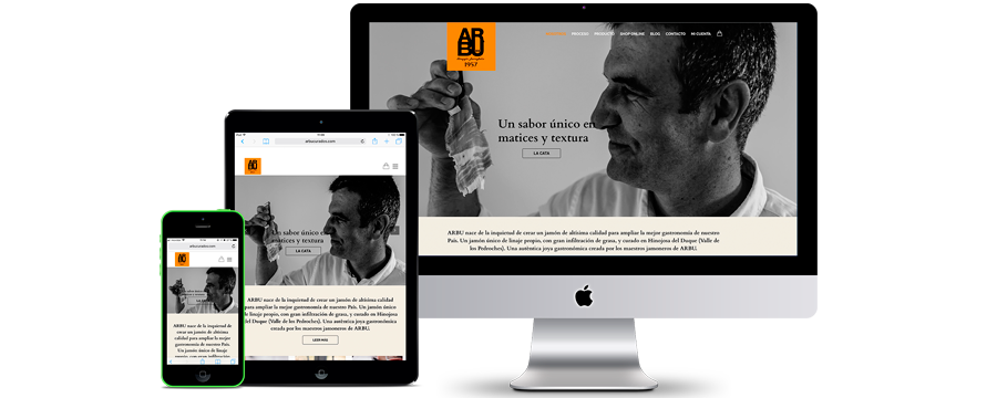 Estrenem nova web - Arbu Curados